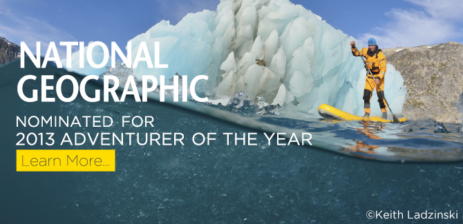 Nominated For 2013 Adventurer of the Year